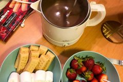 Make made fondue for Fondue Friday!