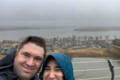 Mississippi River selfie