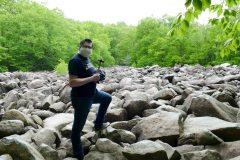 BYO hammer to the Ringing Rocks boulder field