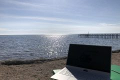 Not a shabby workspace