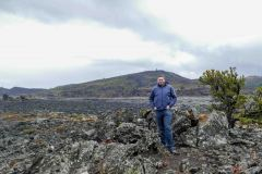 Mark and lava fields