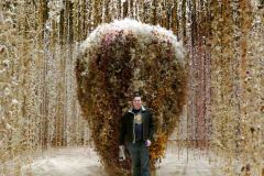 "Art! Rebecca Louise Law's exhibit encourages ""the viewer to experience the relationship between humanity and nature."""