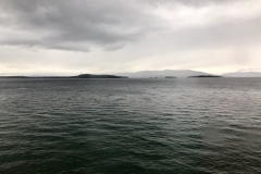 Flathead Lake -- high winds were predicted to cause rough waters on the lake
