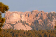 First glimpse of Mount Rushmore
