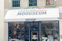 The Moogseum, dedicated to synthesizer inventor and Asheville resident Robert Moog