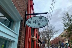 Hip Replacements -- vintage-style boutique