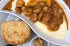 Shrimp and grits at Ruby Slipper