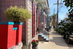 Houses in the Marigny neighborhood