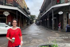 What's for breakfast in the French Quarter? Humidity.