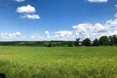 Upstate NY--lots of farmland and wind turbines