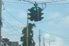 Green means go (Tipperary Hill, Syracuse, NY)