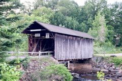 The historic Salisbury Center Covered Bridge (Salisbury, NY)