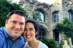 4TH OF JULY--fancy dinner at Beardlee Castle in Little Falls, NY