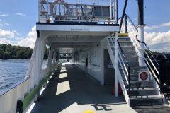 Plattsburgh ferry on Lake Champlain