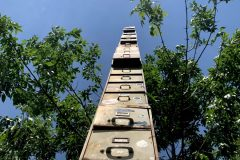 World's tallest filing cabinet