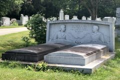 Headboard headstone