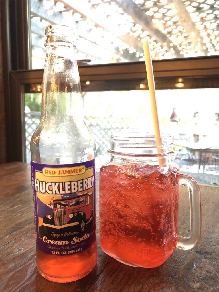 Red Jammer Huckleberry Cream Soda