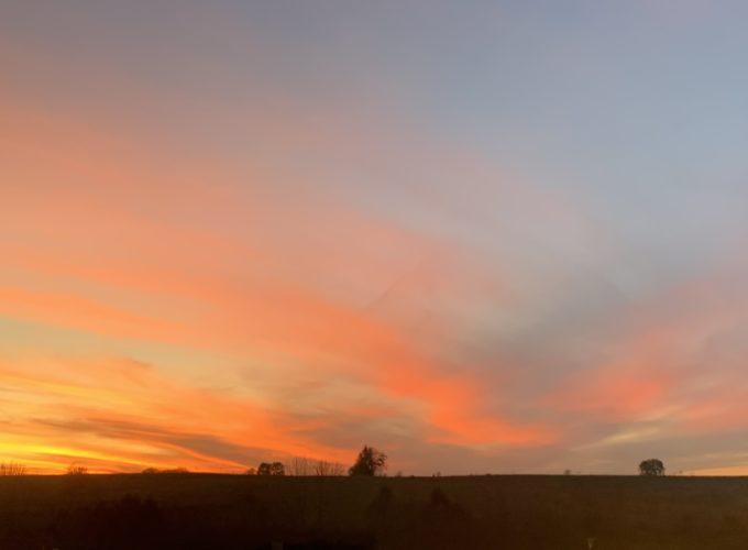 KC sunset